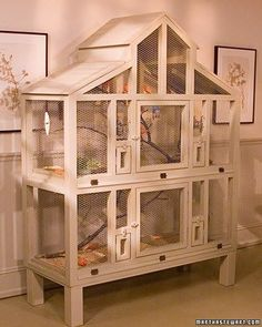 Bird house for 'red' canaries...........when i'm 'really' old!
