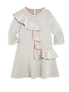 Fendi Toddler's, Little Girl's & Girl's Ruffle Neoprene Dress