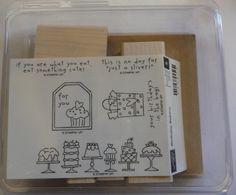 Stampin' Up! – Birthday Bakery Wood Stamp Set