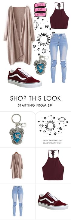 """Let me dream with the stars ⭐️"" by meanerthanmydemons ❤ liked on Polyvore featuring Warner Bros. and Vans"