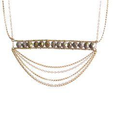 Regency chandelier necklace by freshtangerine