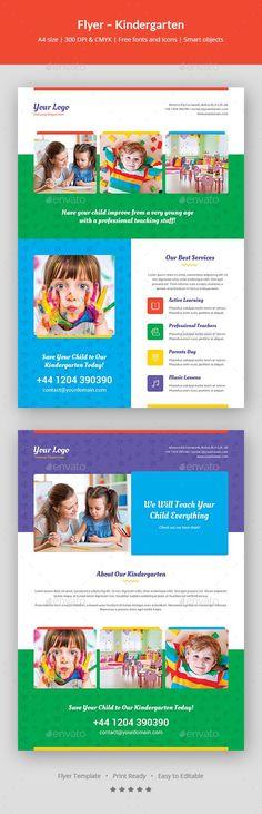 Brochure u2013 Medical Bi-Fold Brochure template, Brochures and Template - kindergarten brochure template