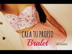 ¡COSE TU BRALET EN MINUTOS! - Madeleyn ♡ - YouTube