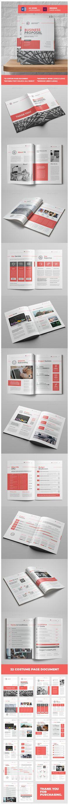 9 best Business Proposal Ideas images on Pinterest Graph design - bid proposal template