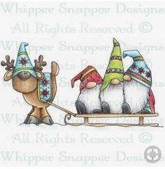 Christmas Rock, Christmas Gnome, Christmas Projects, Winter Christmas, Holiday Crafts, Christmas Ornaments, Fall Winter, Watercolor Christmas Cards, Christmas Drawing