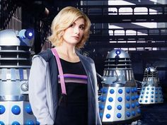 So Doctor Who is going to be back on a Sunday and on the October. For this reason I am paying tribute to Jodie Whittaker as well as a nod back to her predecessors. Doctor Who 2005, New Doctor Who, 13th Doctor, Eleventh Doctor, Female Doctor, Dalek, Torchwood, Time Lords, David Tennant