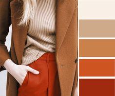 7 эффектных сочетаний с оранжевым цветом