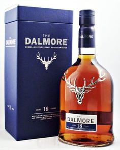Dalmore 18 year old Single Malt Scotch Whisky 43% 70cl just added to our range