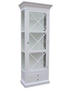 Bordeaux Cross Cabinet 80 cm (Hvit) kr 4.90000 NOK  #classicliving #interiør