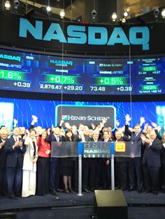 "Henry Schein Opens the NASDAQ Stock Market in Celebration of 'Give Kids A Smile"" Program's 10th Anniversary"