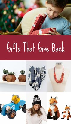 Want to purchase a gift that has a positive impact beyond the gift's recipient? Here you'll find great gift ideas for everyone on your list! #SavortheSeason #Contest