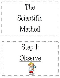 "FREE SCIENCE LESSON - ""Scientific Method Display Posters"" - Go to The Best of Teacher Entrepreneurs for this and hundreds of free lessons.  http://thebestofteacherentrepreneurs.blogspot.com/2012/04/free-science-lesson-scientific-method.html"