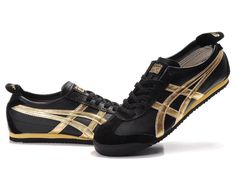 cheap for discount 5b3d8 2f04c Onitsuka Tiger Mexico 66 Black Gold