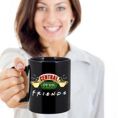 Friends Tv Show Mug Central Perk Mug Friends Mug Best Seller (125 SEK) ❤ liked on Polyvore featuring home, kitchen & dining, drinkware, drink & barware, grey, home & living, mugs, coffee mugs, coffee tea mugs and tea mug