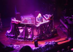 Rick Wakeman, I saw him in concert at Sidney Myer Music Bowl in Melbourne Australia 1975. AMAZING!