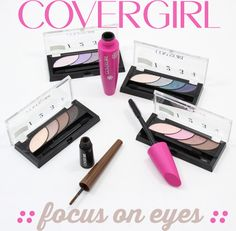 COVERGIRL Spring 2015: Focus on the Eyes