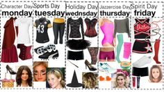"""Spirit Week"" by jacie ❤ liked on Polyvore"