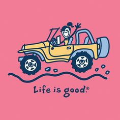 A girl and a Jeep... Life IS Good. :)