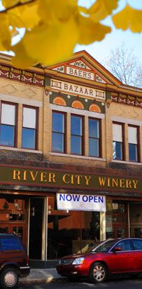 River City Winery Wine Of The Year At Indy International Compeion New Albany In Historic Southern Indiana