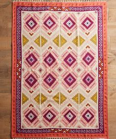 Kaleidoscope Blooms Rug, from $78