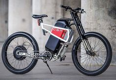 What ya all think ? Its more motorcycle than ebike .Cbm concept by from A serious ev ,speeds up to 100 kmh with… Electric Bicycle, Electric Vehicle, Fat Bike, Bicycle Parts, Cool Bicycles, Bike Design, Cycling Bikes, Custom Bikes, Motorbikes