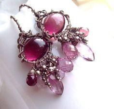 Anna Bella Amethyst earrings by SparrowsJewels on Etsy https://www.etsy.com/listing/123226268/anna-bella-amethyst-earrings