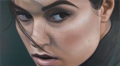 Another beautiful portrait from Richard Phillips.