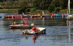 Gut gerüstet, ...  und das nicht nur im Saarland, sind die Frauen und Männer der DLRG für die diesjährige Wassersaison. Auch auf dem Stausee Losheim. :-) http://www.saar.dlrg.de/
