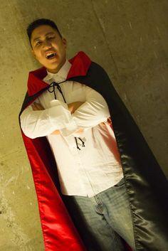 Vampire cape. #Halloween #Costumes