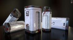 ArtStation - Containers.Doom Fan Art, Ivan Lavretsov