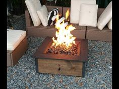 Step by step instructions on building a Cheap DIY Propane Fire Pit. Using an existing fire pit, and black iron pipe to create an adjustable flame fire pit.