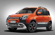 Fiat Panda Cross to be unveiled at the Geneva Motor Show ! Auto Motor Sport, Sport Cars, Fiat Panda 4x4, Trekking, Fiat Models, Automobile, New Fiat, Fiat 500l, 2015 Cars