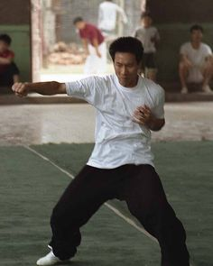 """Master Chen Bing's """"Hide Hand Forearm Fist"""" at the moment of its release with explosive power. In Chen taiji, the foundation of all fa jin (explosive power) is proper relaxation. My Teacher, Tai Chi, Chen, Martial Arts, Foundation, In This Moment, Photo And Video, Usa, Instagram Posts"""