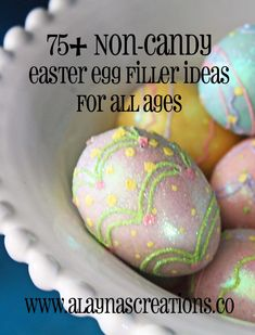 75+ Non-Candy Easter Egg Filler Ideas for All Ages  Make your Easter Egg Hunt even more fun this year with these easy and unique ideas