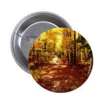 St Joseph Island Fall Colours 2 Inch Round Button