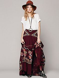 Free People Diamond Meadows Maxi