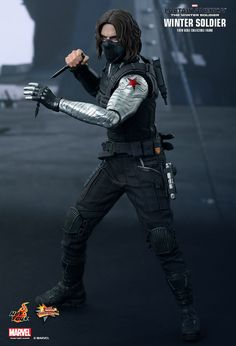 Hot Toys : Captain America: The Winter Soldier - Winter Soldier 1/6th scale Collectible Figure