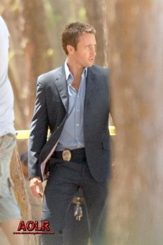 Mcg! In a suit...thud!