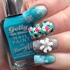 christmas by deanne29 #nail #nails #nailart
