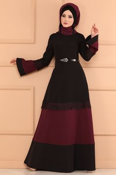 Hijab Fashion, Women's Fashion, Moslem Fashion, Hijab Style, Abayas, Dress Sewing Patterns, Muslim, How To Wear, Outfits
