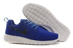 New arrival 511881-418 nikes roshe run blue white men running shoes