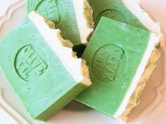 Cucumber Mint Soap  Handmade Soaps  Natural Soap by AromaScentsLLC