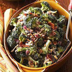 vSimple Sunny Broccoli Salad