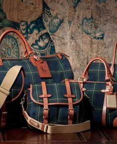 Old School Ralph Lauren bags - perfect travel luggage