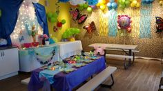 Jump 2 It:  TINKERBELL themed birthday party
