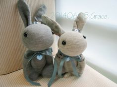 sock rabbits