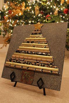 Masculine Christmas Tree completed teepee tree   teepee christmas tree   pinterest