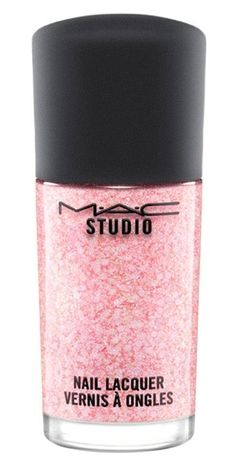Loving this pink sparkly MAC nail polish! Such a fun color for Valentine's Day!