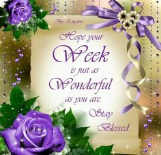 Image result for blessed week ahead