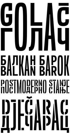 Typonine's Balkan Sans